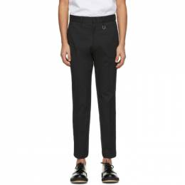 Wooyoungmi Black Slim Trousers PT10