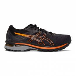 Asics Black and Orange GT-2000 9 GT-X Sneakers 1011A986