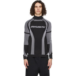 Misbhv Black Active Sport Turtleneck 021M500