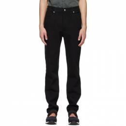 Eckhaus Latta Black High EL Jeans 332-EL-CORE-AB