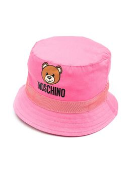 Moschino Kids панама с принтом Teddy Bear MYX032LMA01