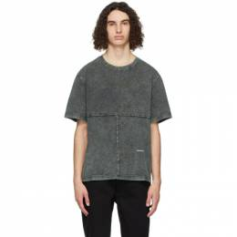 Eckhaus Latta Green Lapped T-Shirt 301-EL-PS21-SS