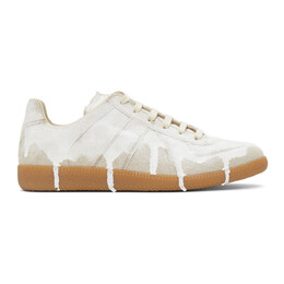 Maison Margiela Beige White-Out Replica Sneakers S57WS0374 P3957