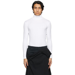 Raf Simons White Archive Redux R Embroidery Turtleneck A01-118