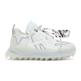 Off-White White Odsy Mesh Low-Top Sneakers OMIA179R21FAB0010172