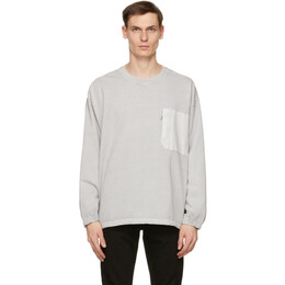 Levi's Grey Utility Pocket Long Sleeve T-Shirt 36203-0001