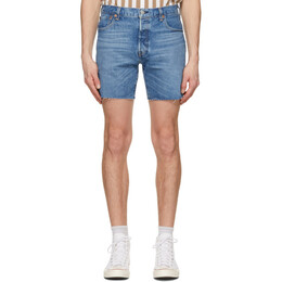 Levi's Blue 501 93 Cut-Off Shorts 85221-0003