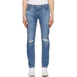 Levi's Blue 511 Slim Flex Jeans 04511-4907