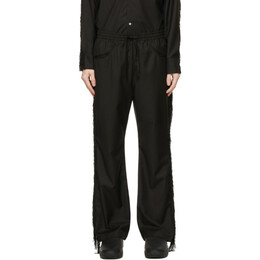 Black Fringe Cowboy Trousers IN135 Needles