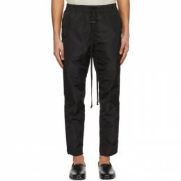 Fear Of God Black Nylon Track Pants FG40-013MNY