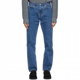 Norse Projects Blue Regular Denim Jeans N30-0100