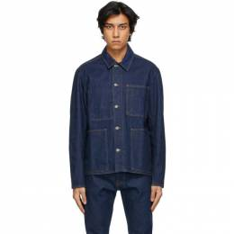 Norse Projects Indigo Denim Tyge Jacket N50-0172