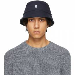 Norse Projects Navy Twill Bucket Hat N80-0101