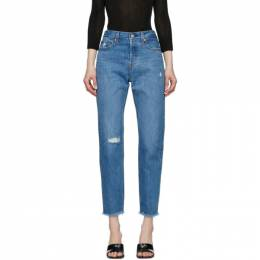 Levi's Blue Wedgie Icon Jeans 22861-0081
