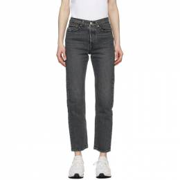 Levi's Grey Wedgie Straight Jeans 34964-0072
