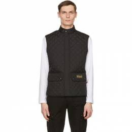 Belstaff Black Lightweight Quilted Vest 71080012