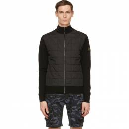 Belstaff Black New Kelby Zip Cardigan 71160136