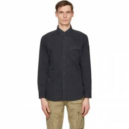 Belstaff Navy Twill Pitch Shirt 71120237