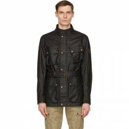 Belstaff Black Waxed Trialmaster Jacket 71050519