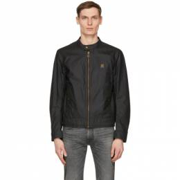 Belstaff Navy Waxed Kelland Jacket 71020815