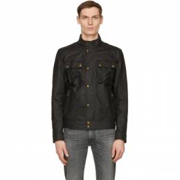 Belstaff Black Waxed Racemaster Jacket 71020816