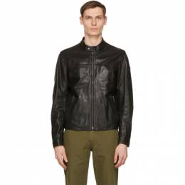 Belstaff Black Leather Pelham Jacket 71020875