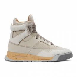 Maison Margiela Off-White DDSTCK High-Top Sneakers S57WS0378 P3961