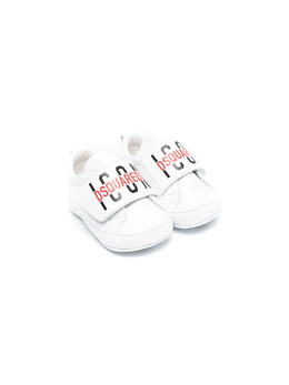 Dsquared2 Kids кроссовки Icon на липучках 67116