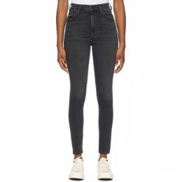 Citizens of Humanity Black High-Rise Chrissy Jeans 1611B-1149*