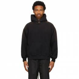 Fear Of God Black Faded Hoodie FG50-061FLC