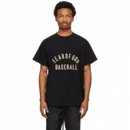 Fear Of God Black Baseball T-Shirt FG50-063CTJ
