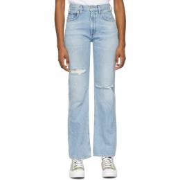 Citizens of Humanity Blue Libby Relaxed Bootcut Jeans 1854-769