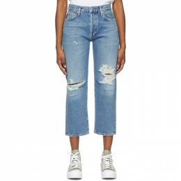 Citizens of Humanity Blue Emery Crop Jeans 1766-769