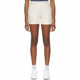 Rag & Bone Off-White Terry City Sweat Shorts WCC21S9054P154-IVRY