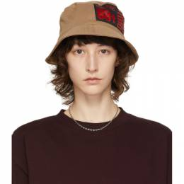 SSENSE Exclusive 88rising Brown Patch Bucket Hat R2_A5_OC SSENSE WORKS