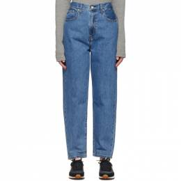 Levi's Blue High Loose Taper Jeans 17847-0004