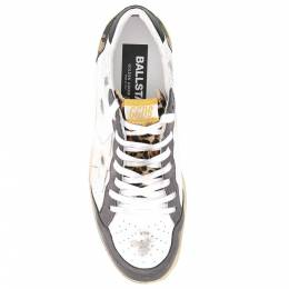 Golden Goose Deluxe Brand White Camouflage Ball Star Sneakers Size EU 41 394619