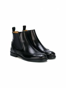Stretch panel ankle boots J05078AM Gallucci Kids