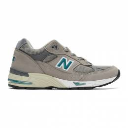 New Balance Grey Made in UK 991 Anniversary Sneakers W991ANI