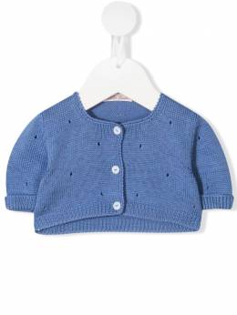 Cropped-knit cardigan 9179 Little Bear