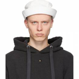 Craig Green White Laced Bucket Hat CGSS21CWOHAT01