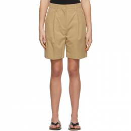 Beige Cotton Half Pant Shorts LOW21SS_SR06BE LOW CLASSIC