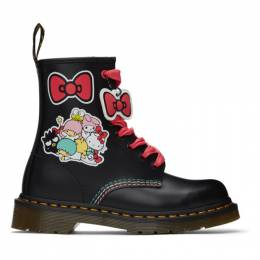 Dr. Martens Black Hello Kitty and Friends Edition 1460 Boots 26840001