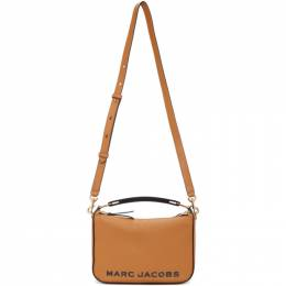 Marc Jacobs Brown The Softbox 23 Top Handle Bag M0017037
