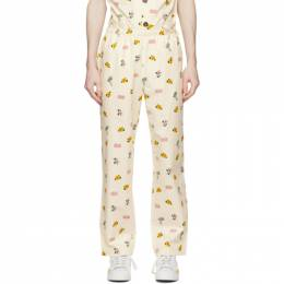 Off-White All Over Print Pajama Lounge Pants CLPT21SS5018 Clot