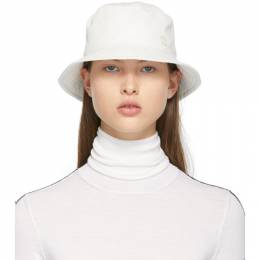 Maison Michel White Jason Bucket Hat 2072022002