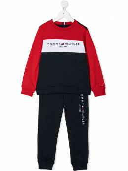 Tommy Hilfiger Junior толстовка Essential в стиле колор-блок KB0KB06596