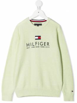 Tommy Hilfiger Junior джемпер с вышитым логотипом KB0KB06513
