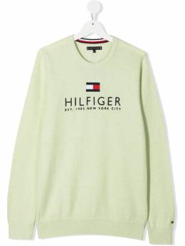 Tommy Hilfiger Junior джемпер с вышитым логотипом KB0KB06513T