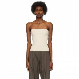 Off-White Ribbed Tube Top B21SS_KN001 Arch The